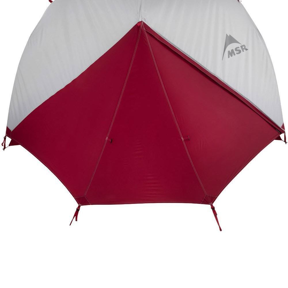 MSR Elixir 2 Person Hiking Tent - Front door zipped closed