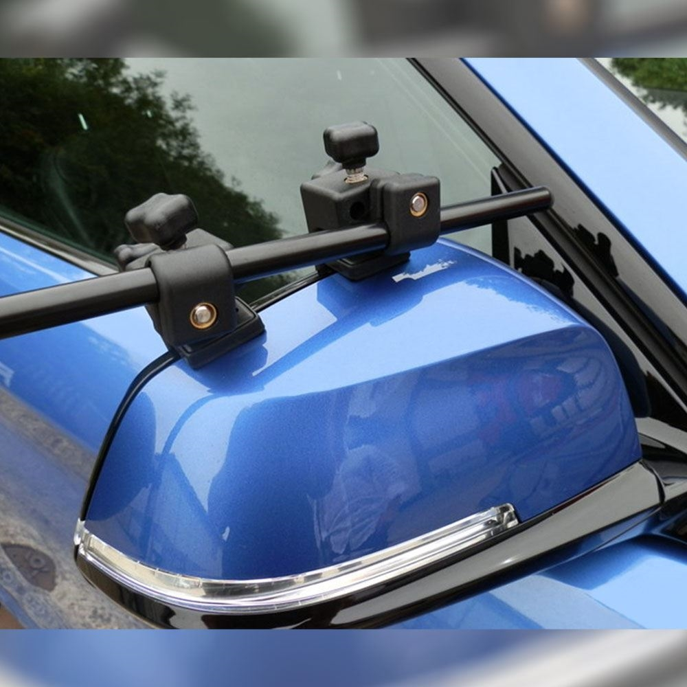 Milenco Grand Aero 4 Towing Mirrors - Standard Glass - On vehicle