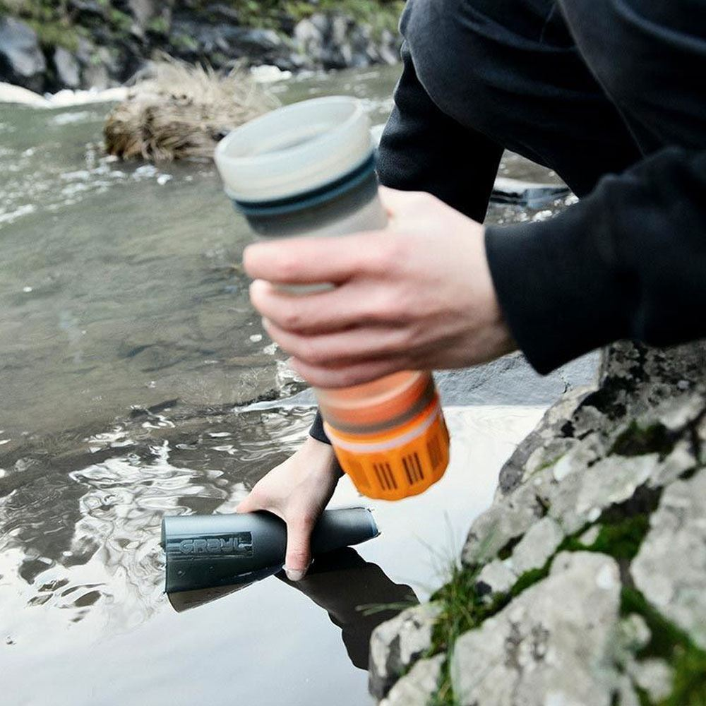 Grayl Ultralight Water Purifier & Filter Bottle