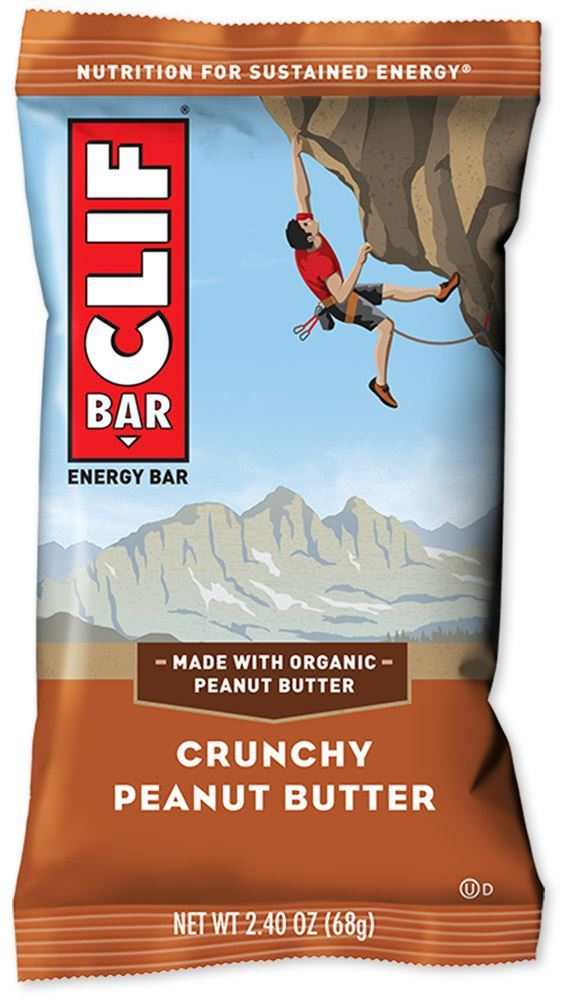 Clif Bar Crunchy Peanut Butter Energy Bar - Packaging