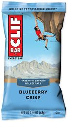Clif Bar Blueberry Crisp Energy Bar - Packaging
