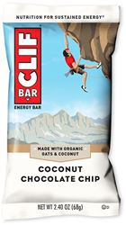 Clif Bar Coconut Chocolate Chip Energy Bar - Packaging