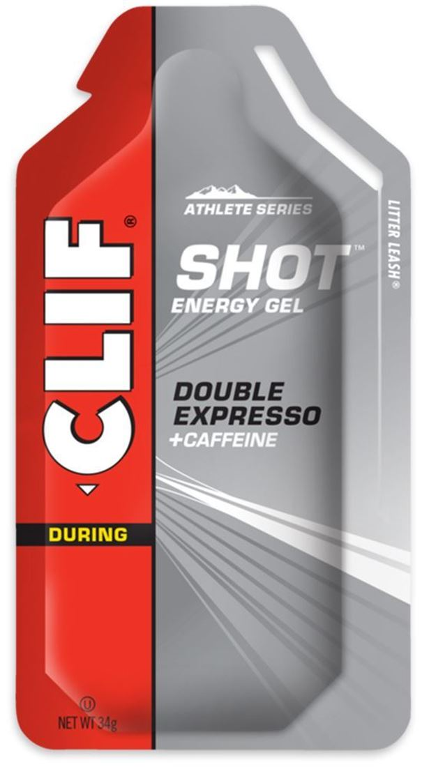 Clif Bar Shot Energy Gel Double Expresso - Packaging