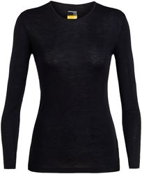 Icebreaker Everyday Wmn's Long Sleeve Crewe X Small Black