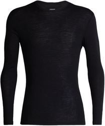 Icebreaker Men's 175 Everyday Long Sleeve Crewe Small Black