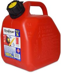 Scepter Squat Style Fuel Jerry Can 5L