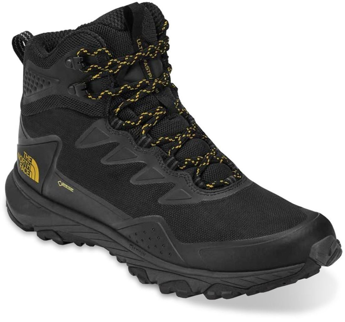TNF Ultra Fastpack III Mid GTX Men's Boot Black Amber