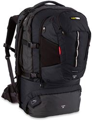 Black Wolf Cuba 65L Travel Pack - Black