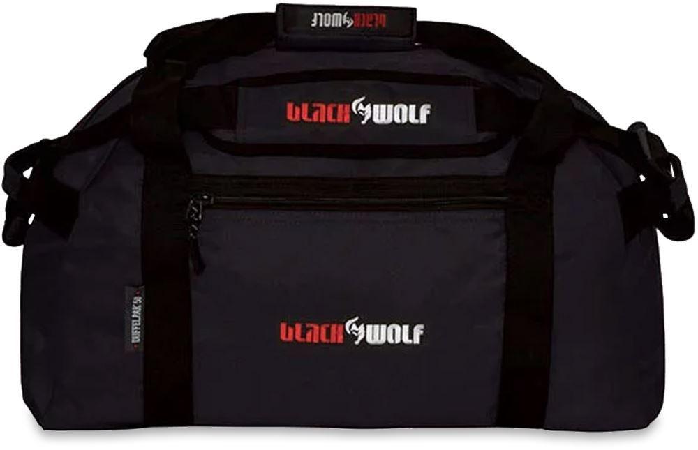 Black Wolf Duffel Pak 50L - Black