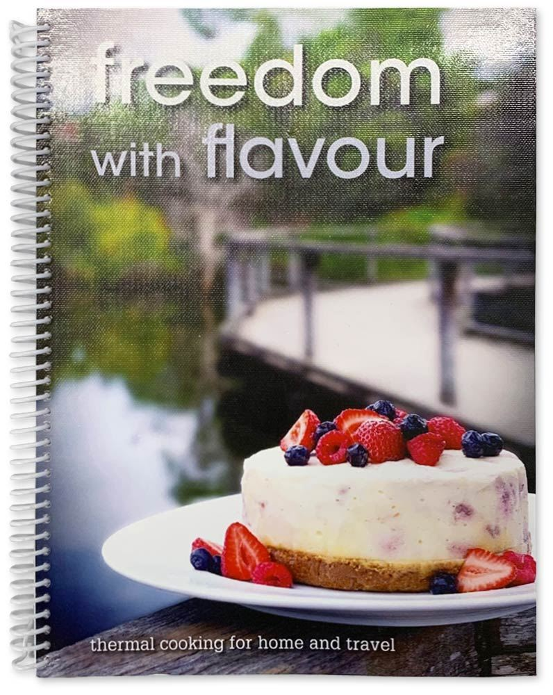 Thermal Cookware Freedom with Flavour Recipe Book