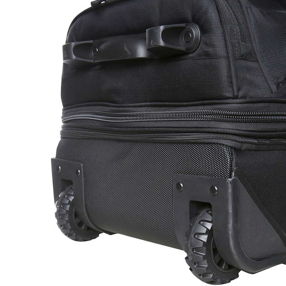 Black Wolf Bladerunner 60 + 20 Duffle Bag - Base and wheels