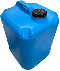 MB Agencies Plastic H2O Blue Cube 25L Jerry Can