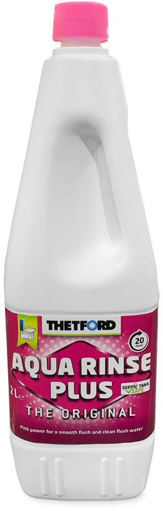 Thetford Aqua Rinse Pink 2L Bottle