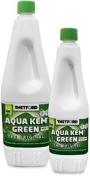Thetford Aqua Kem Green - 1L and 2L Bottles