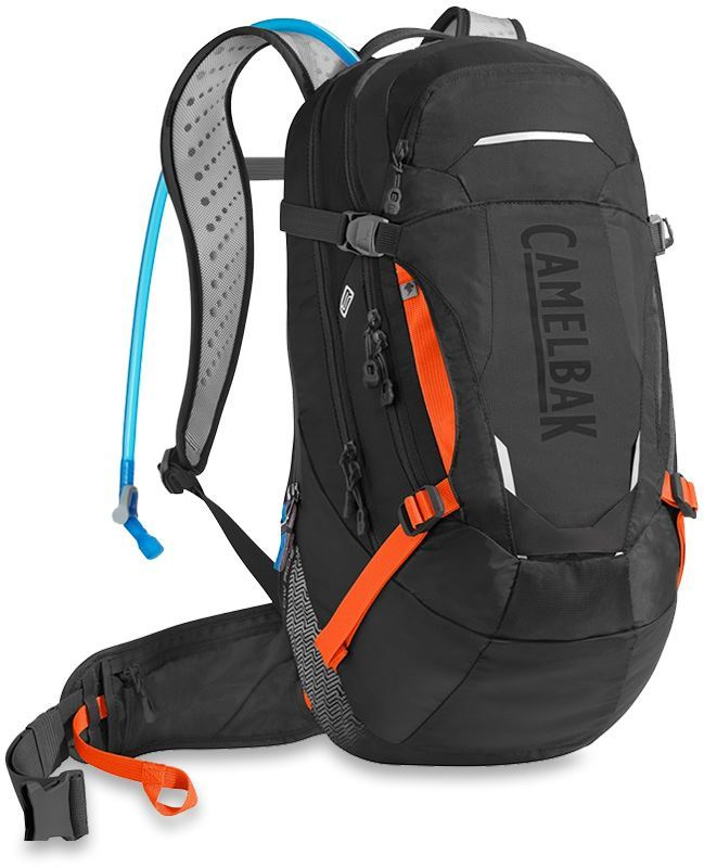 Camelbak MULE LR 15 Hydration Pack Black Laser Orange