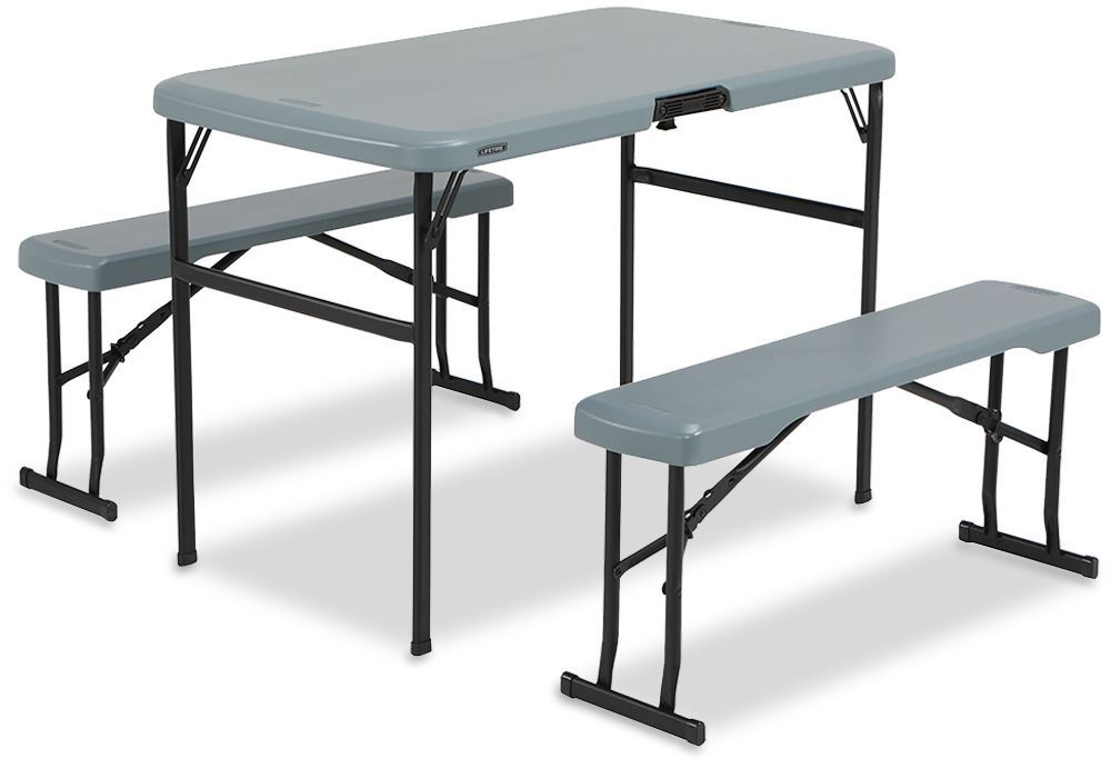 OZtrail Lifetime Folding Picnic Table Set