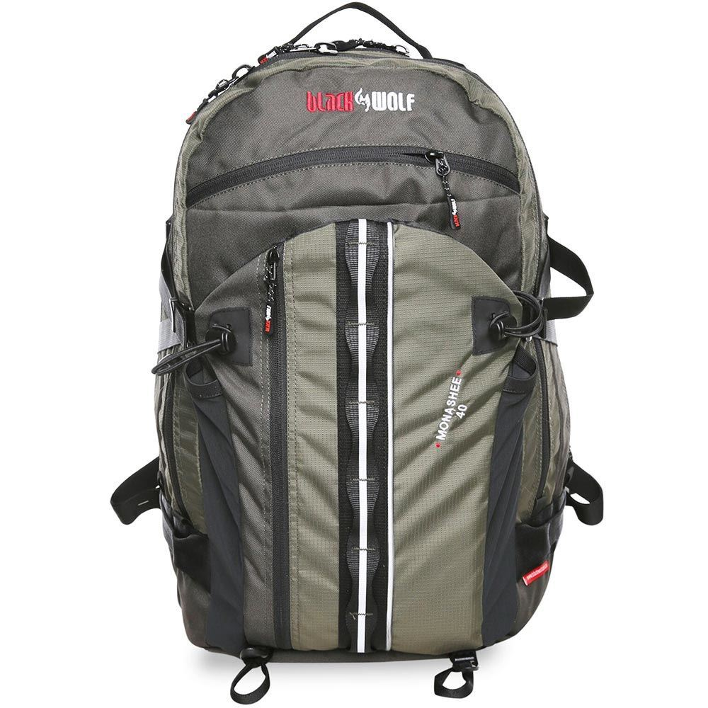 Black Wolf Monashee 40L Day Pack - Front view
