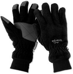 Sherpa Full Fingered Fleece Gloves Black XSmall