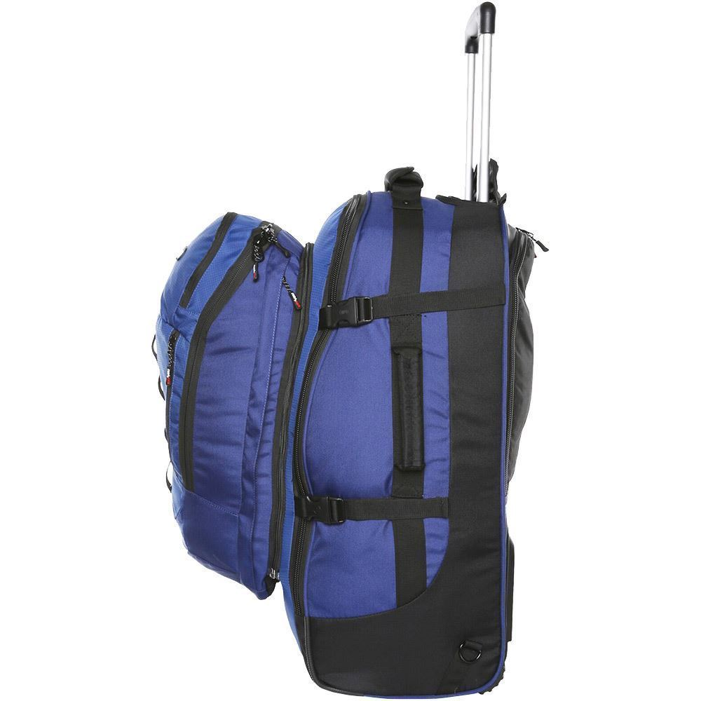 Black Wolf Grand Tour 65L Travel Pack - Side view