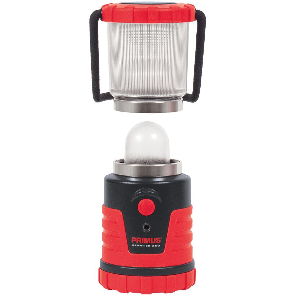 Primus Frontier Camping Lantern 250 - Lens removed