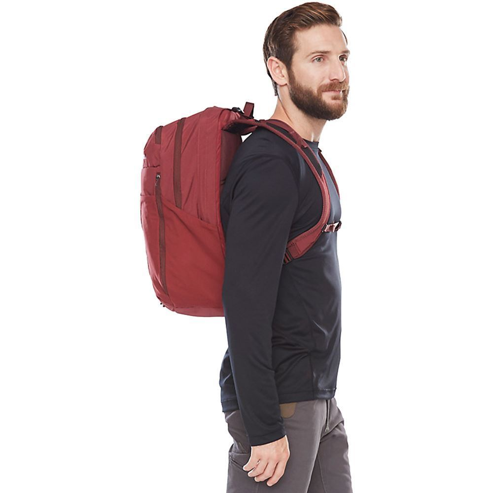 Marmot Tool Box 26 Daypack - Man wearing red coloured pack on his back