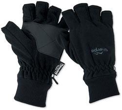 Sherpa Fingerless Fleece Gloves