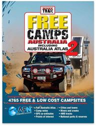 AFN Fishing & Outdoor Make Trax Edition 2 Free Camps Australia with Atlas - Hard Cover