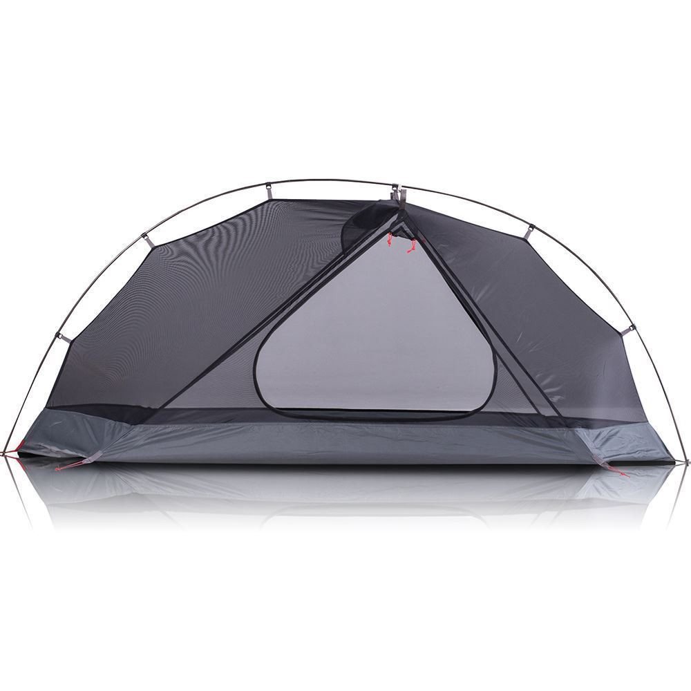 Zempire Atom Hiking Tent - Front view with fly removed