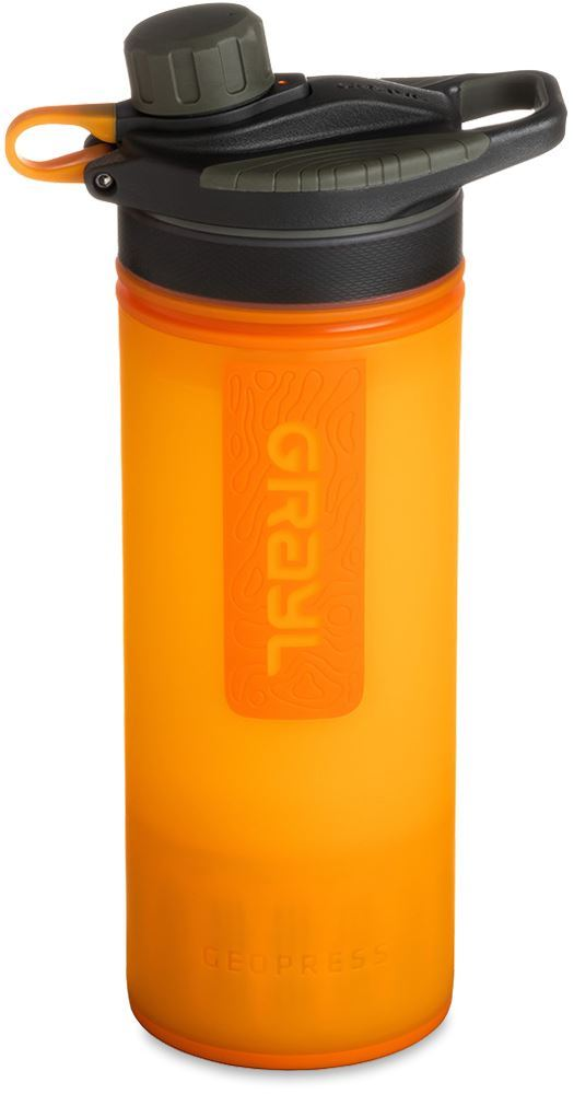 Grayl GEOPRESS™ Portable Purifier Visibility Orange