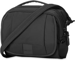 Pacsafe Metrosafe LS140 Shoulder Bag - Black