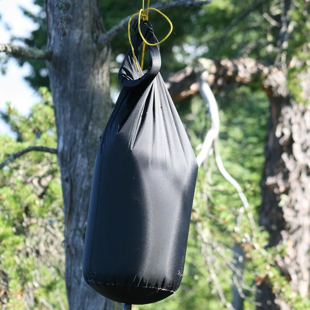 Sea to Summit Pocket Shower 10L - Shower hanging from tree