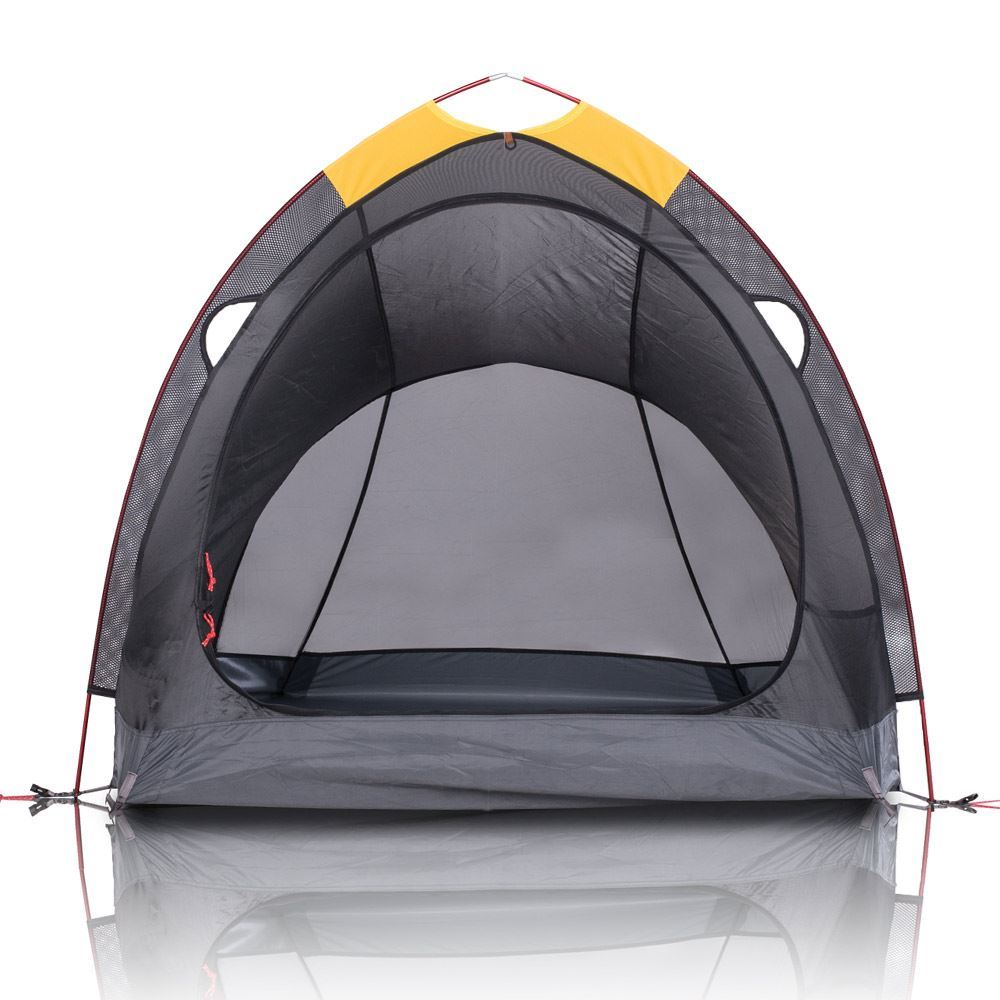 Zempire Atmos Hiking Tent - Front view with fly removed