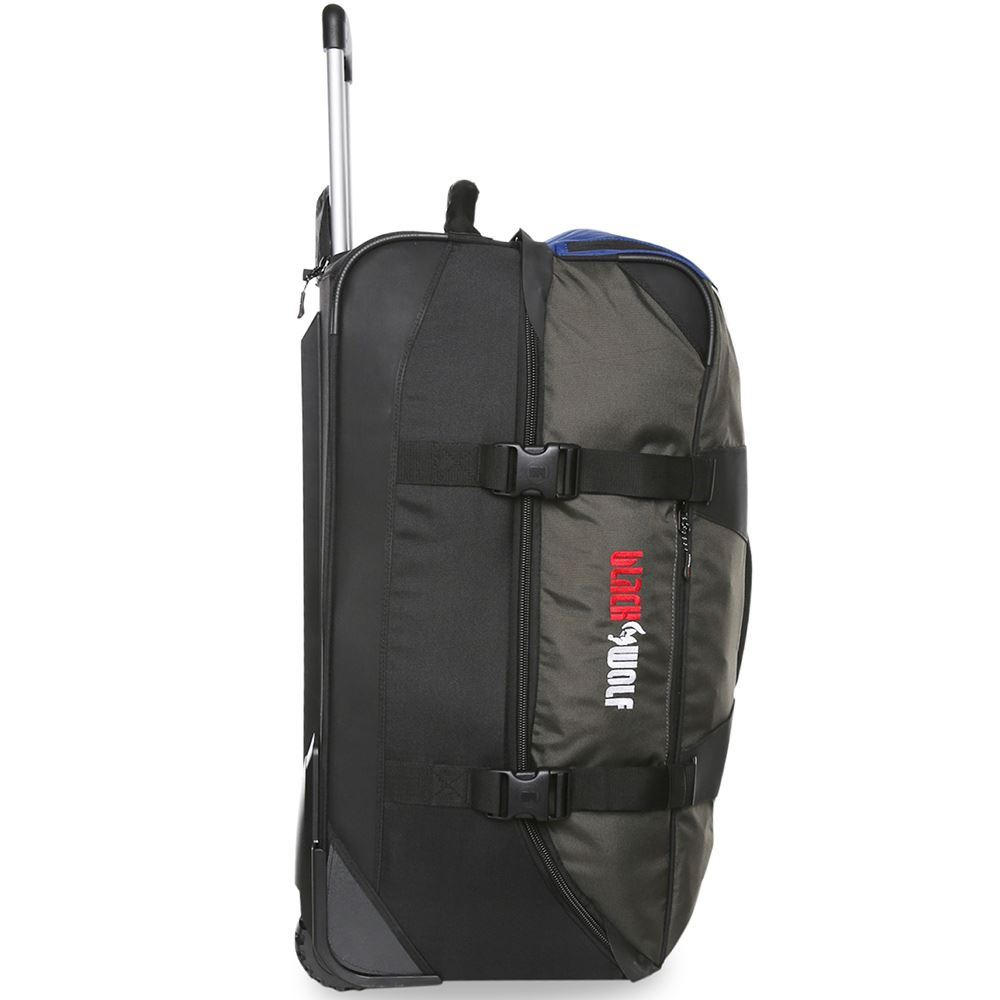 Black Wolf Globerunner II 120L Duffle Bag - Right side view of bag