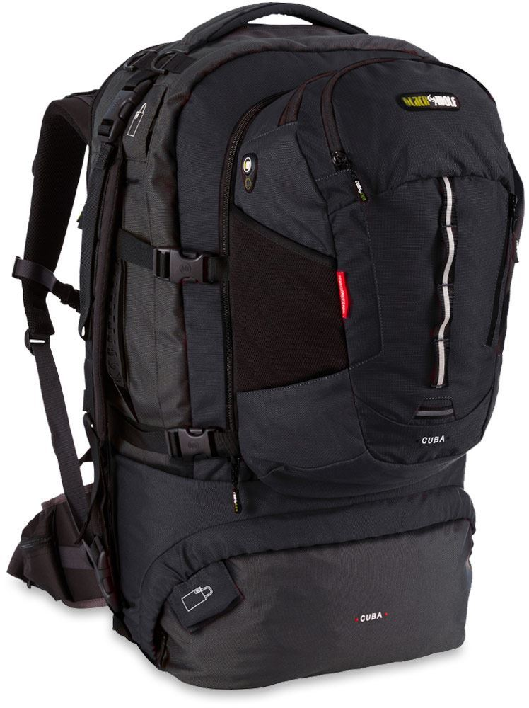 Black Wolf Cuba 90L Travel Pack - Black