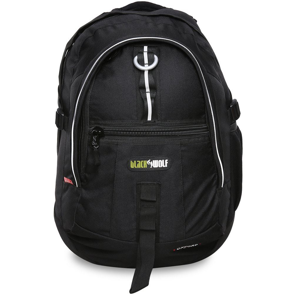 Black Wolf Oxford 30L Day Pack - Front view