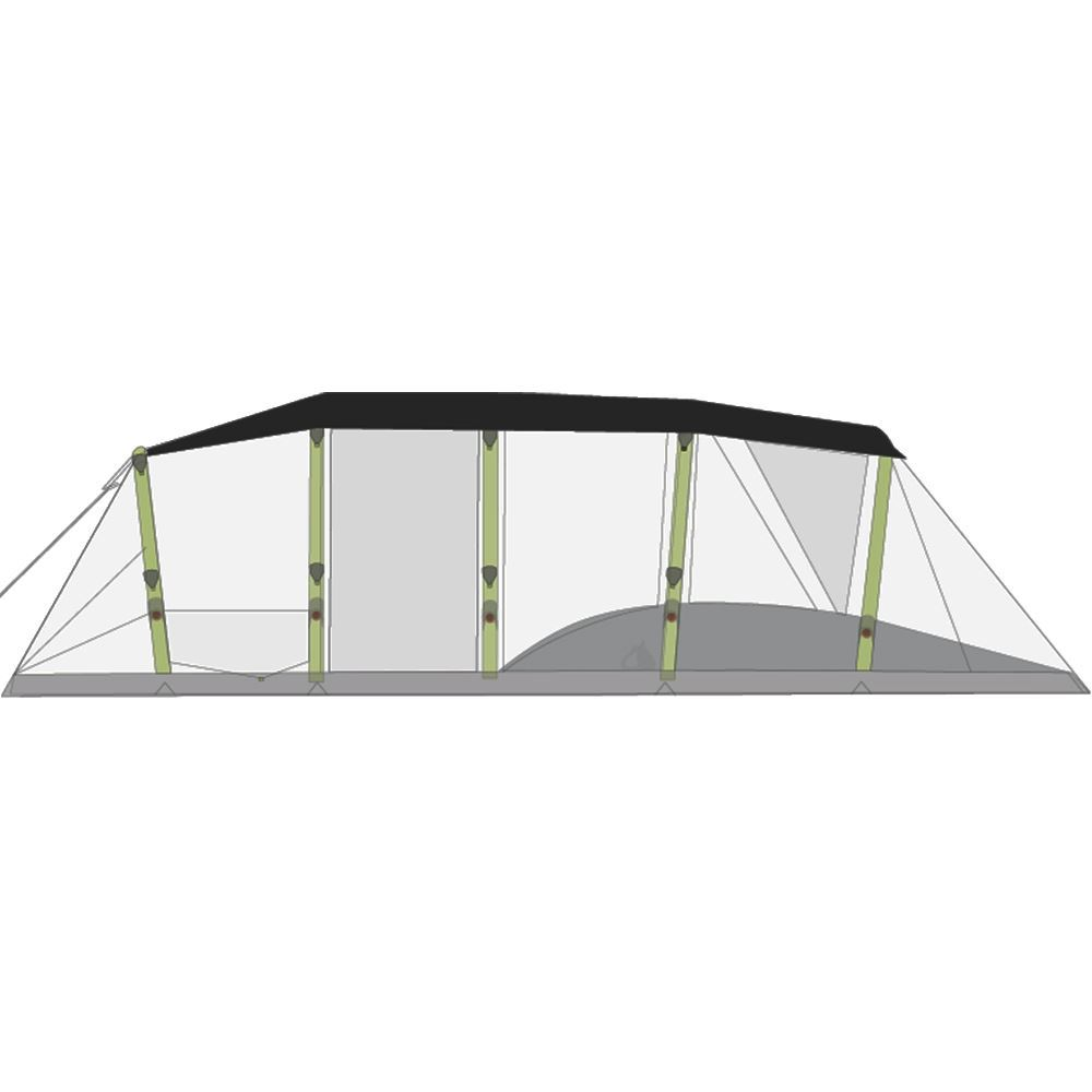 Zempire Aero TXL Tent Roof Cover - Diagram
