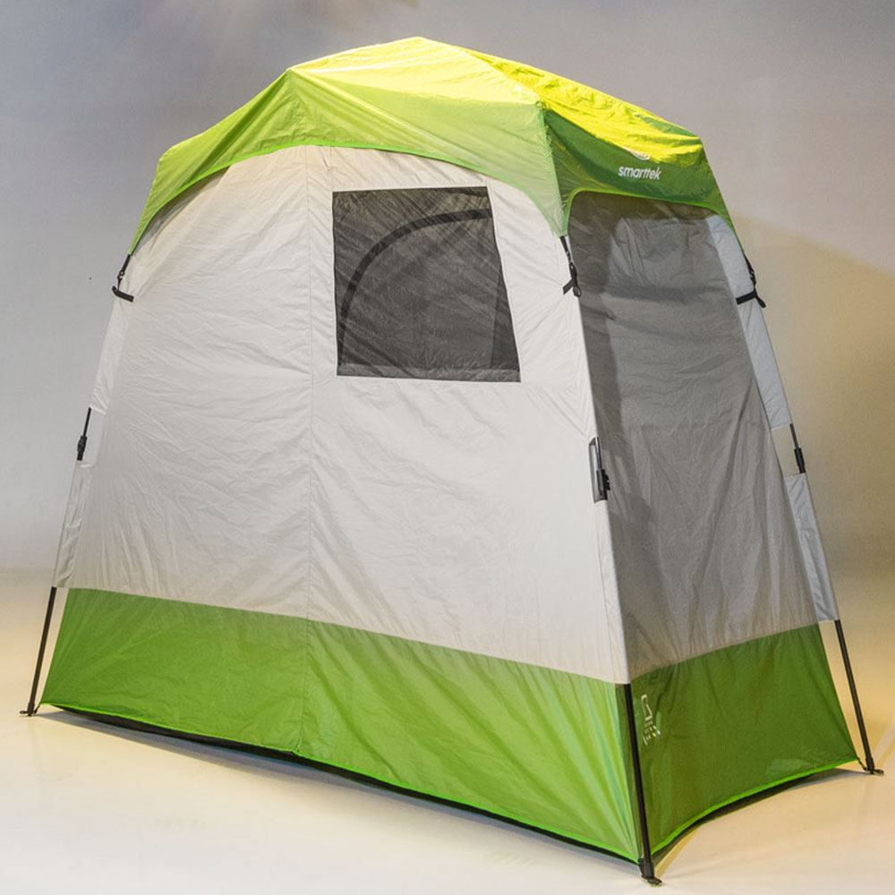 Smarttek Double Ensuite Shower Tent - Back of tent