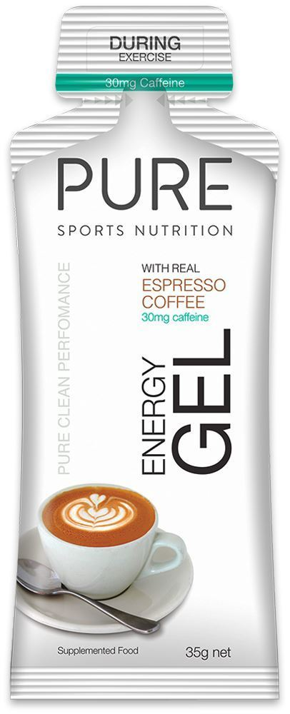 Pure Sports Nutrition Pure Energy Gel Espresso + 30mg Caffeine