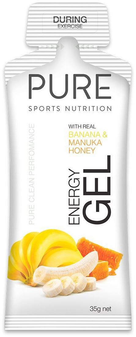 Pure Sports Nutrition Pure Energy Gel Banana & Manuka Honey