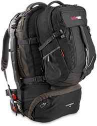 Black Wolf Cedar Breaks 55L Travel Pack - Black