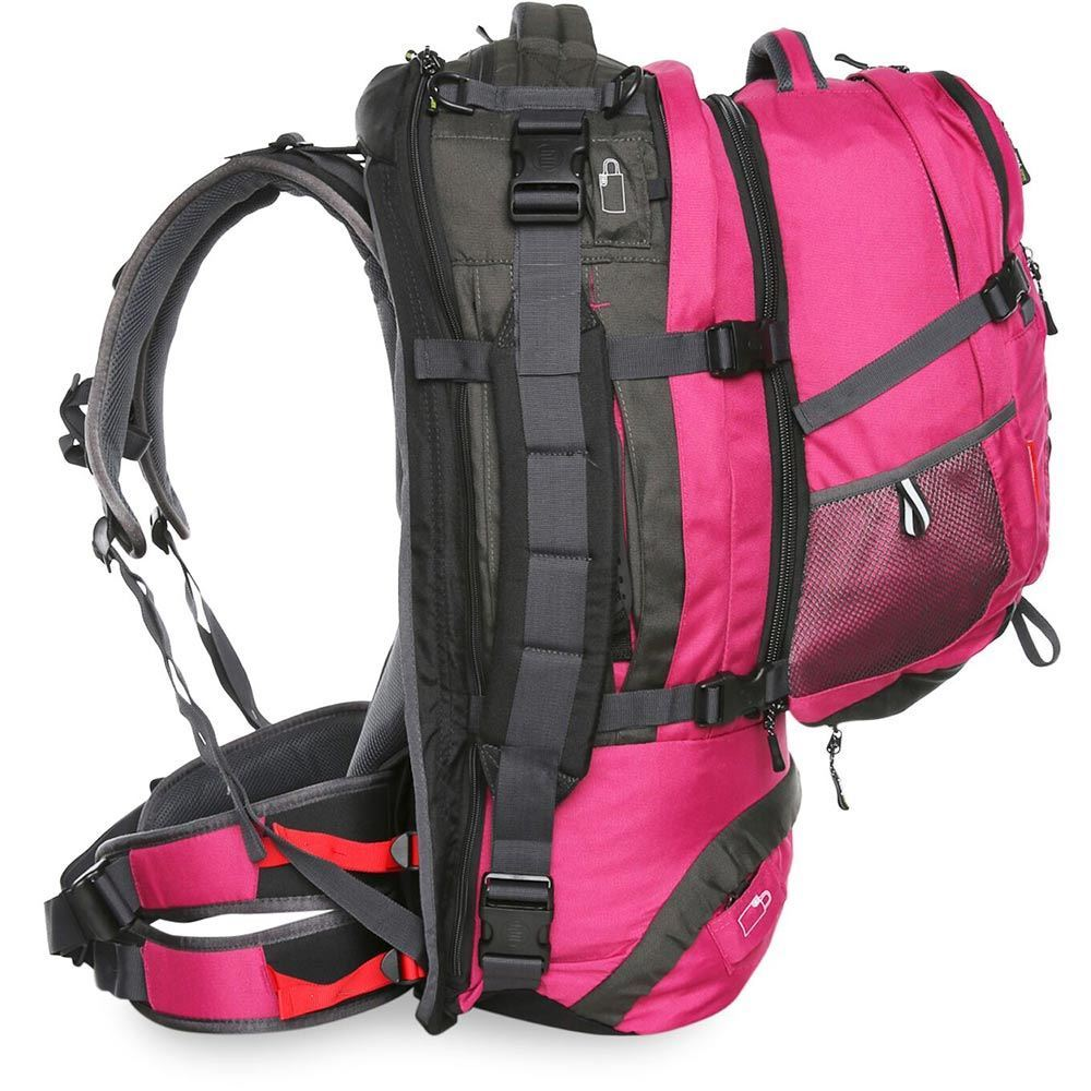 Black Wolf Cedar Breaks 55L Travel Pack - Right side view of pack