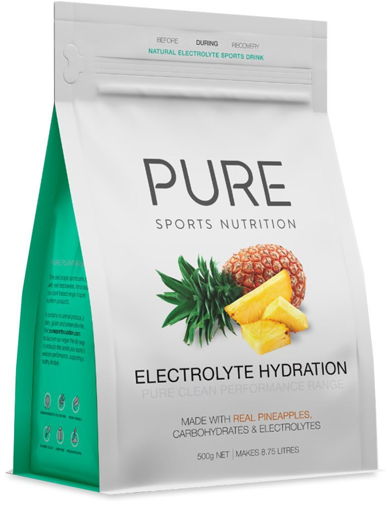 Pure Sports Nutrition Electrolyte Hydration Powder Pineapple
