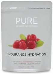 Pure Sports Nutrition Endurance Hydration Powder 500g - Raspberry