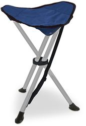Outdoor Connection Tripod Stool - Setup