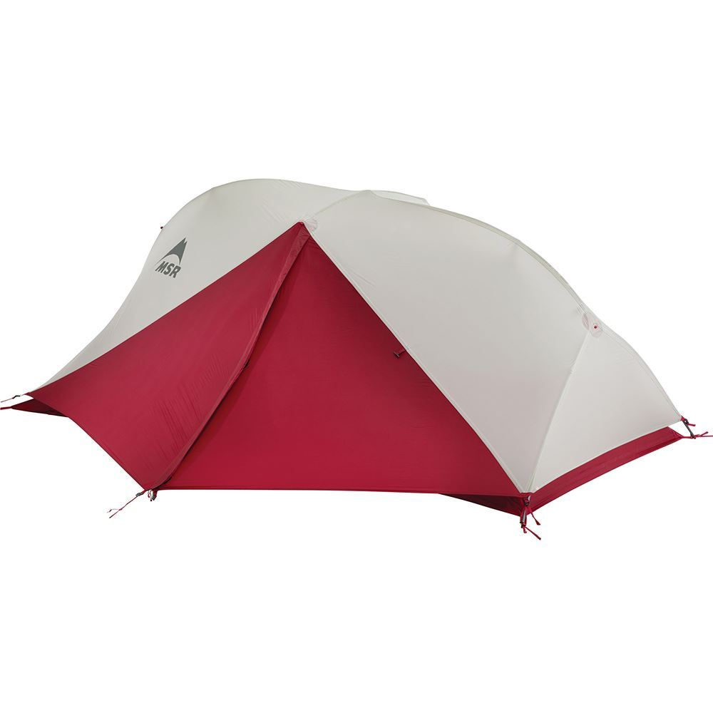MSR FreeLite™ 2 Ultralight Backpacking S19 Tent - Fly completely zipped up