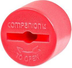 "Companion Cylinder 3/8"" LH Valve Cap"