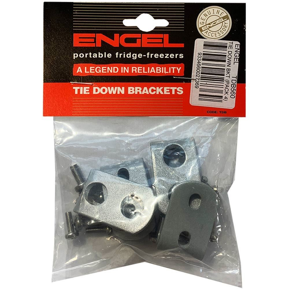 Engel Fridge Tie Down Brackets - Packaging