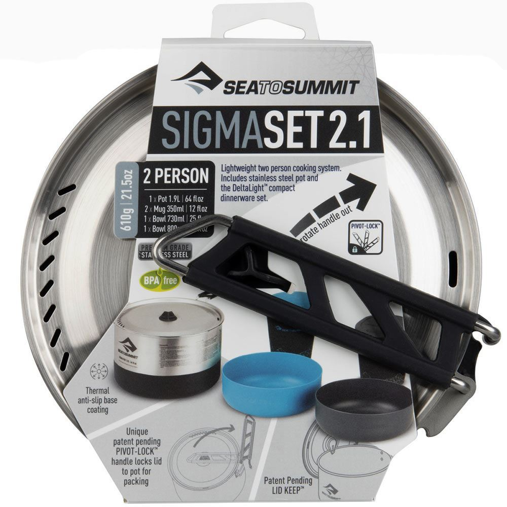 Sea to Summit Sigma Cookset 2.1 - Packaging