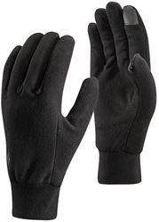 Black Diamond Lightweight Fleece Gloves Large Black
