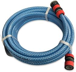 Supex 12mm Non-Taint Drinking Water Hose + Fittings 10m